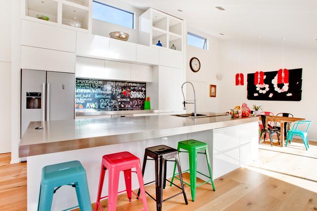 Sweet As Printed Image On Glass Kitchen Splashback Backsplash Contemporary Kitchen