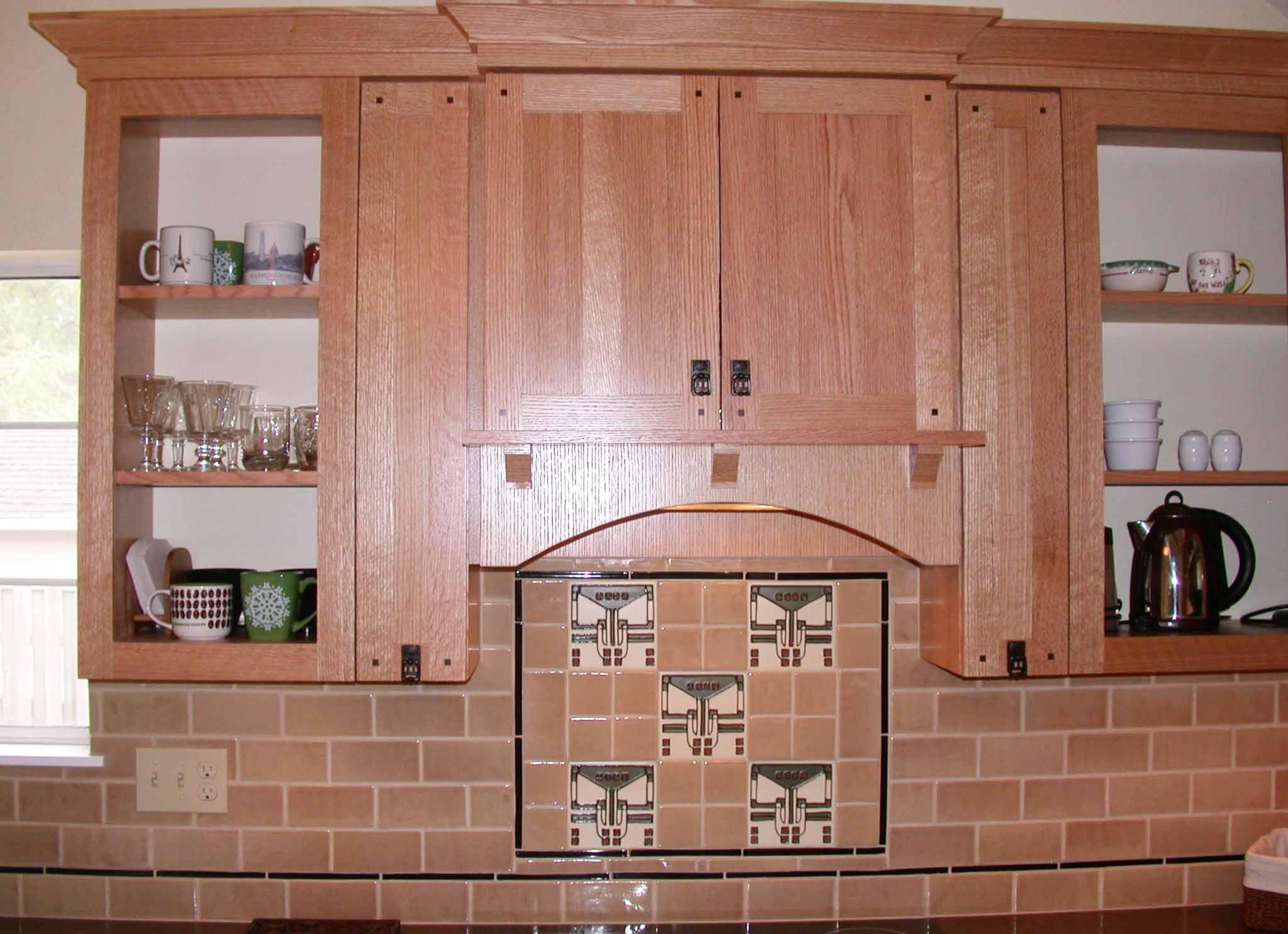 Sweet Craftsman Kitchen