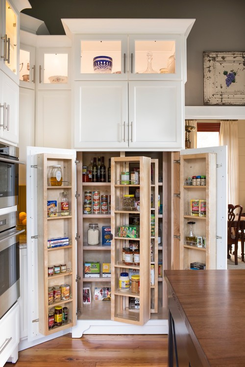 The pros and cons of walk in vs cabinet pantries for Walk in pantry cabinets