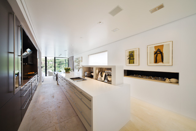 Sydney Harbour House No.1 modern-kitchen