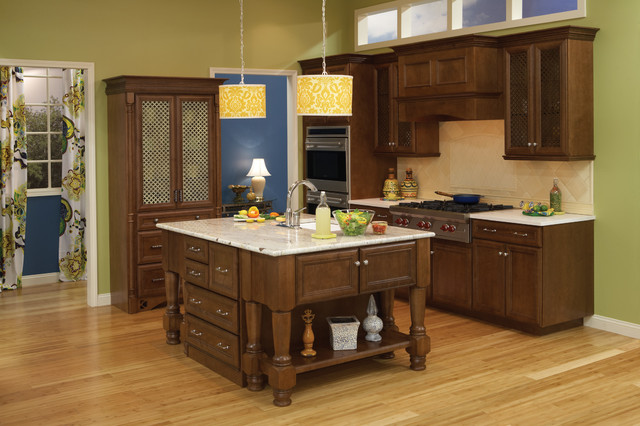 Sydney Maple, Sable Charcoal - Traditional - Kitchen ...