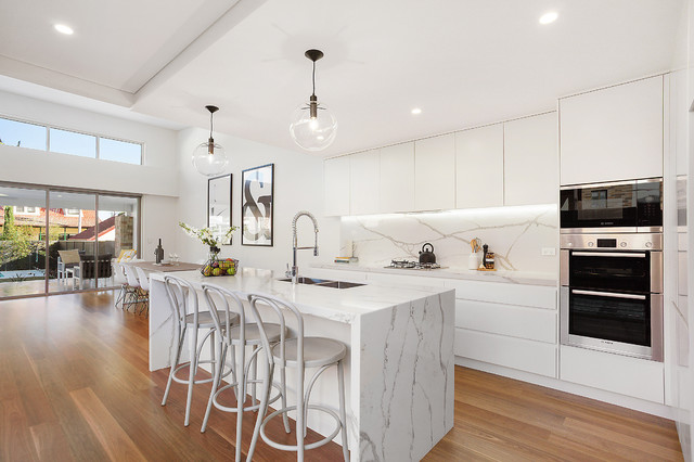 Sydney South Home by Michelle Morris Interiors - Modern - Küche ...