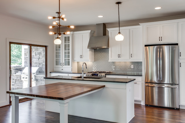Sylvan park urban farmhouse farmhouse kitchen for Style kitchen nashville
