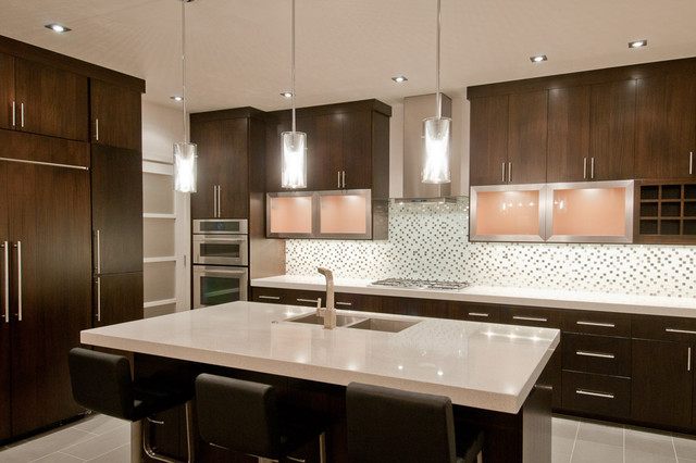 Synergy Kitchen With Caesarstone Counters Modern