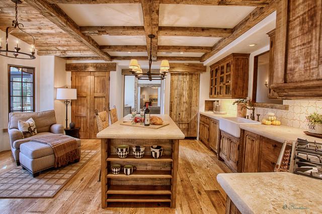 tahoe chalet montagne cuisine sacramento par bratt brothers construction inc. Black Bedroom Furniture Sets. Home Design Ideas