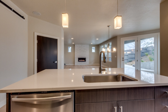 Tahoe Homes in Boise contemporary-kitchen