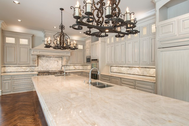 taj mahal quartzite kitchen dallas traditional kitchen dallas by levantina usa. Black Bedroom Furniture Sets. Home Design Ideas