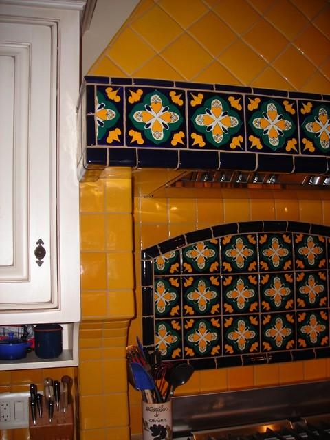 Talavera Kitchen Tile Mediterranean Tile Sacramento By Rustic Brick And Stone