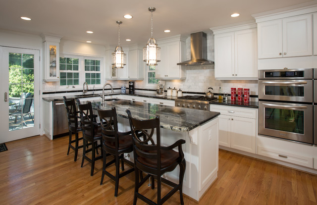 Talk Of The Town Addition In Alexandria Va Kitchen Dc Metro By Michael Nash Design Build