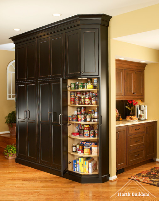 Tall Pantry Kitchen Philadelphia By Harth Builders