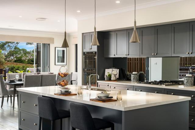 Tallavera rochedale contemporary kitchen brisbane for Mcdonald jones kitchen designs