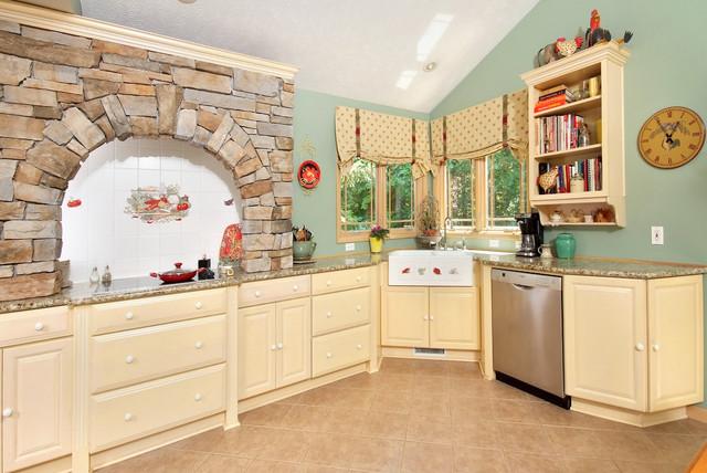 Tamer Construction, ClevelandHomeRemodel.com traditional-kitchen