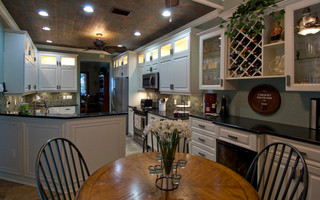 tampa bay area - Tropical - Kitchen - Tampa - by DeGeorge Ceilings Flooring and Custom Cabinetry