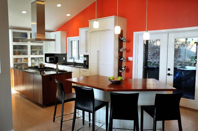 Tangerine Tango kitchen  Contemporary  Kitchen  philadelphia  by