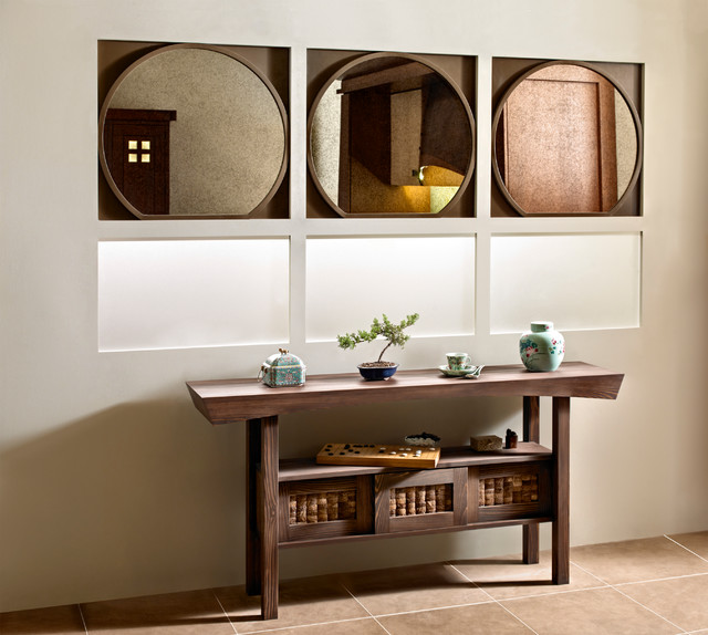 Tansu - Asian - Kitchen - other metro - by Quality Custom Cabinetry, Inc