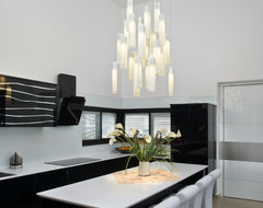 Tanzania Chandelier contemporary kitchen