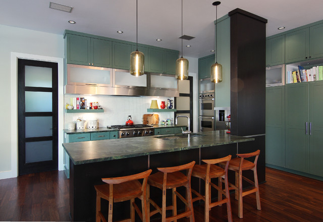 Tarry Town Custom contemporary kitchen