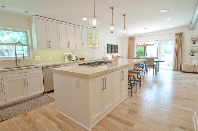 Tarrytown Remodel contemporary-kitchen