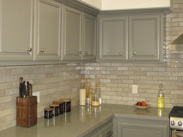 Tarzana ranch style home eclectic-kitchen