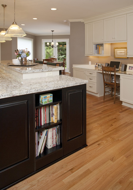 Task Center Traditional Kitchen Seattle By Tenhulzen Residential