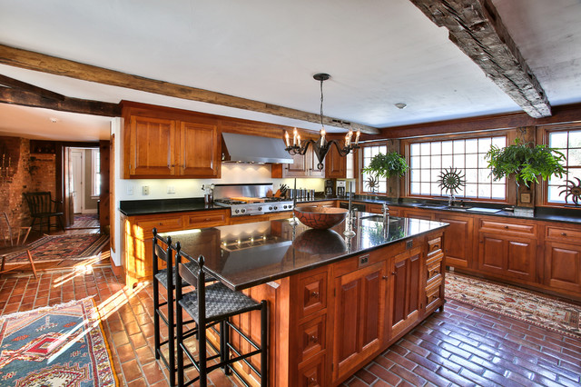 Taunton Hill Andover NH farmhouse-kitchen