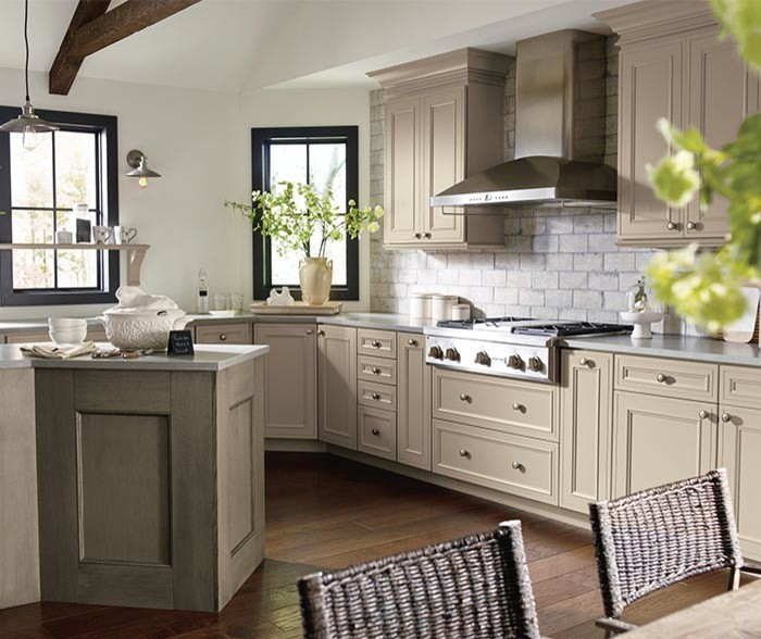 Taupe Kitchen Cabinets Transitional Kitchen Denver By Cabinet Warehouse Houzz
