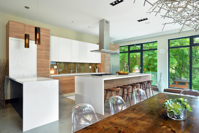 Bisson Ranch contemporary-kitchen