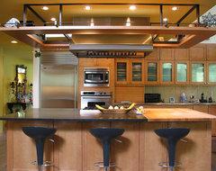 Taylor Slough Creek House_Kitchen modern-kitchen