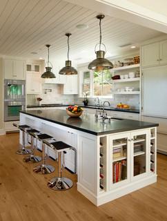 Tea Fire Residence - Traditional - Kitchen - Santa Barbara