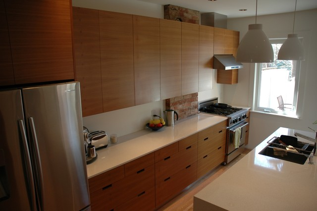 Teak Kitchen Cabinets