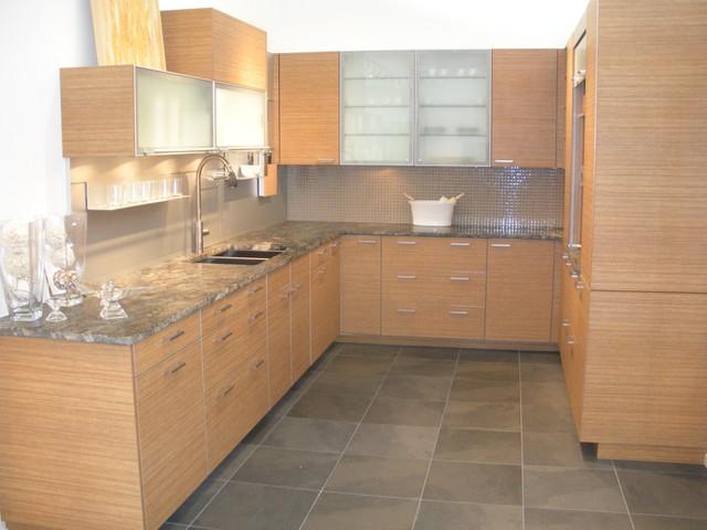 Teak Kitchen- Poggen Pohl contemporary-kitchen