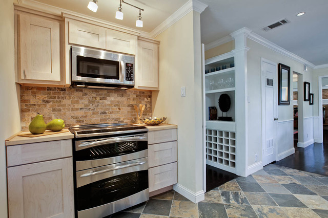 Teakwood contemporary-kitchen