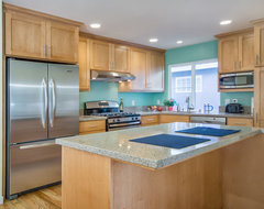 Teal Kitchen traditional-kitchen