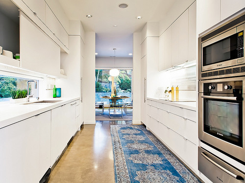 Teal Point Contemporary Kitchen Vancouver By Ponciano Design