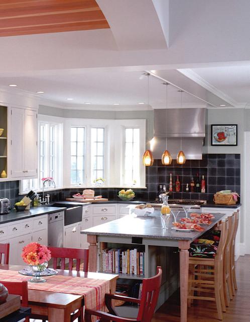 Tech Lighting Low-Voltage Fire Pendant contemporary-kitchen