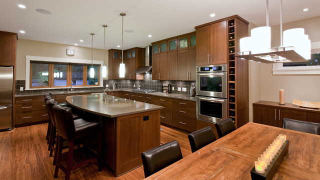 Teevan Residence contemporary kitchen