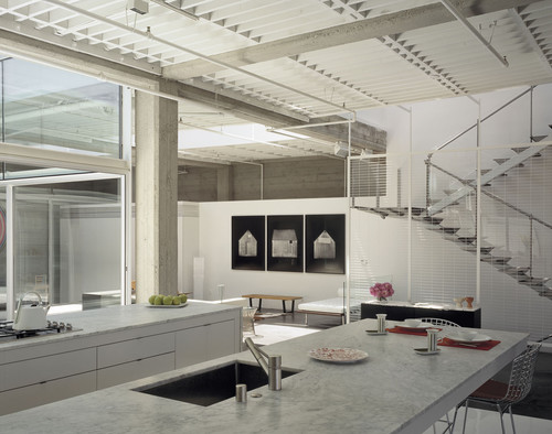 Tehama Grasshopper contemporary kitchen