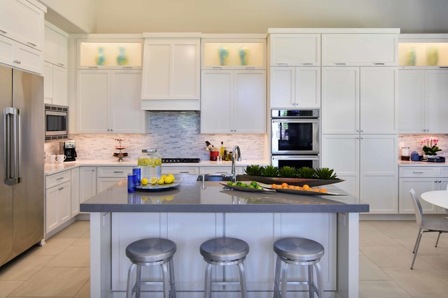 Tempe Coventry Custom Home transitional-kitchen