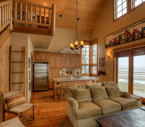 Farmhouse Open Kitchen Living Room Myideasbedroomcom