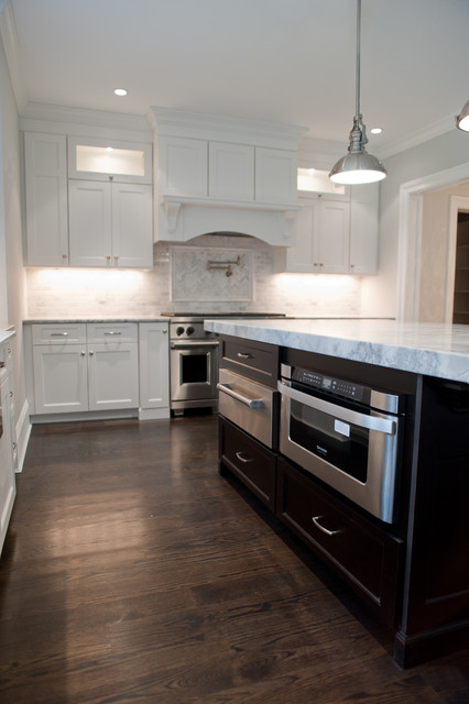 Tenafly Custom Home traditional-kitchen