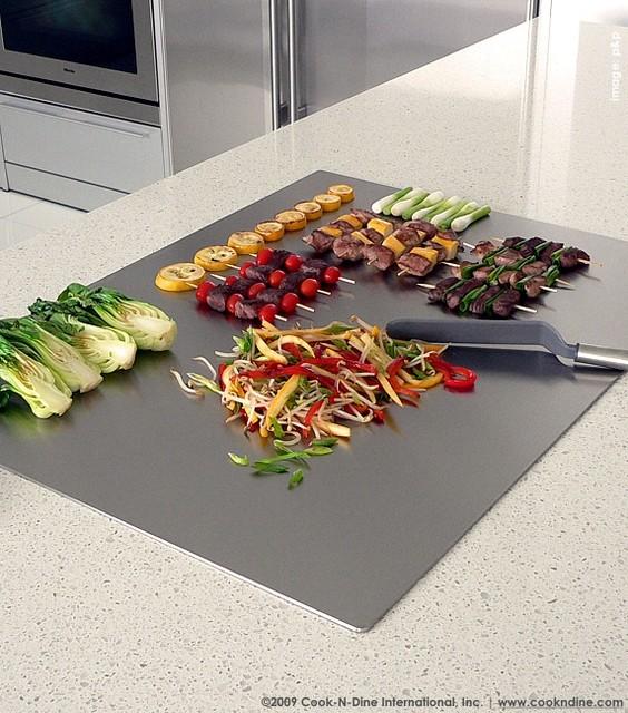 teppanyaki grill built in 31 1 2 x w 23 5 8 80 cm x 58 cm contemporary kitchen miami. Black Bedroom Furniture Sets. Home Design Ideas