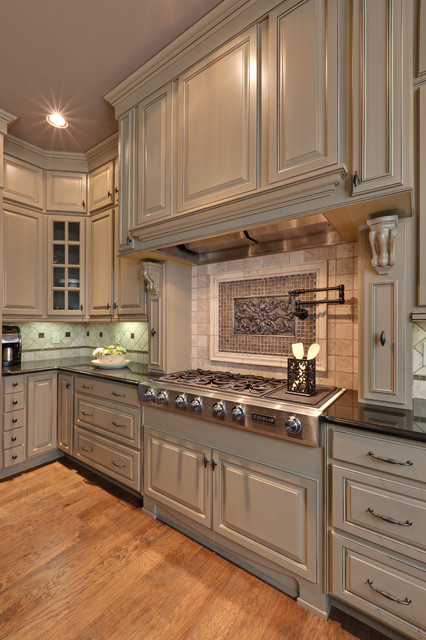 Superb Traditional Kitchen by Turan Designs Inc