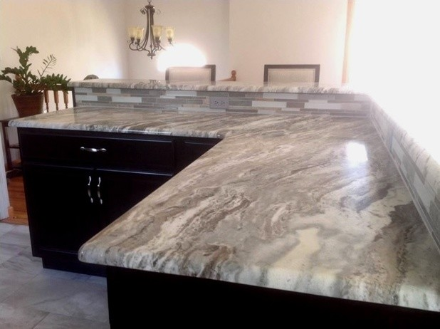 ... - Beach Style - Kitchen - new york - by Elite Stone Importers