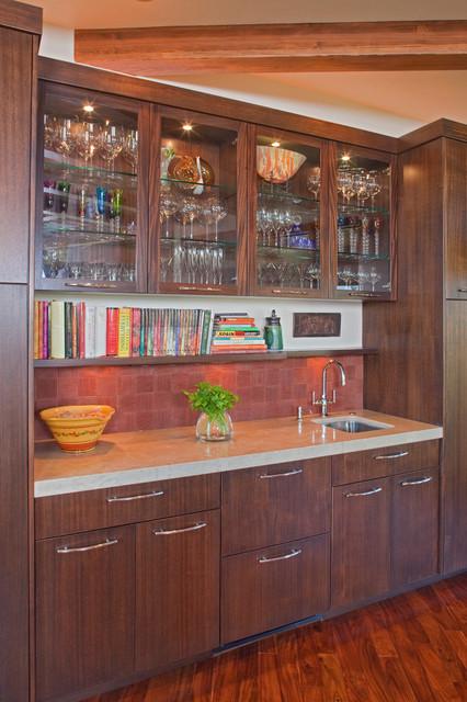 Tetherow bend oregon eclectic kitchen portland by norman building design - Kitchen designers portland oregon ...