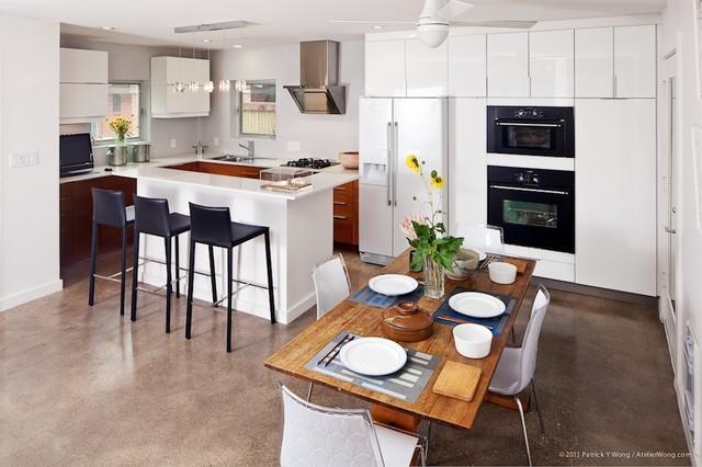 Texas Cantilever modern-kitchen