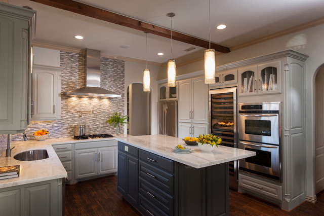 Texas casual with a modern take modern kitchen for Modern kitchen design dallas
