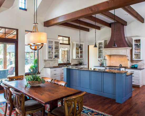 1,056 Farmhouse L-shaped Kitchen Design Photos with White Cabinets