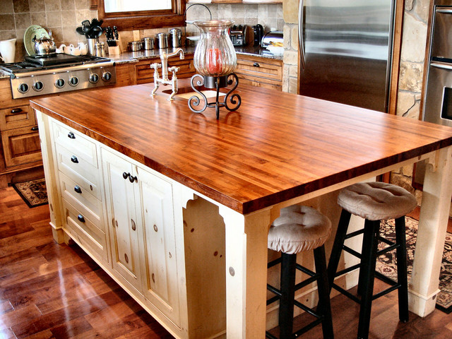 Ordinaire Texas Mesquite Island Top By DeVos Custom Woodworking ...