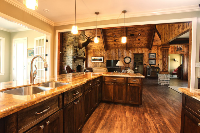 Texas Ranch - Traditional - Kitchen - houston - by Ambiance