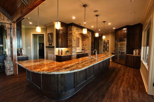 Texas ranch traditional kitchen houston by ambiance for Kitchen ideas ranch style house